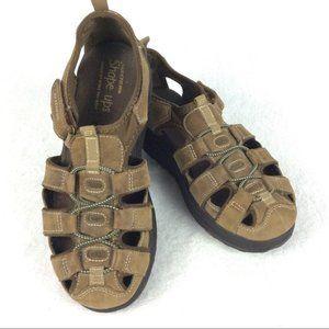 Sketchers Shape-Ups Leather Walking Sandals 7.5